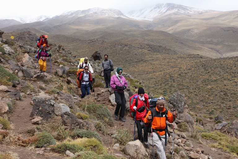 Hike from Mt. Damavand