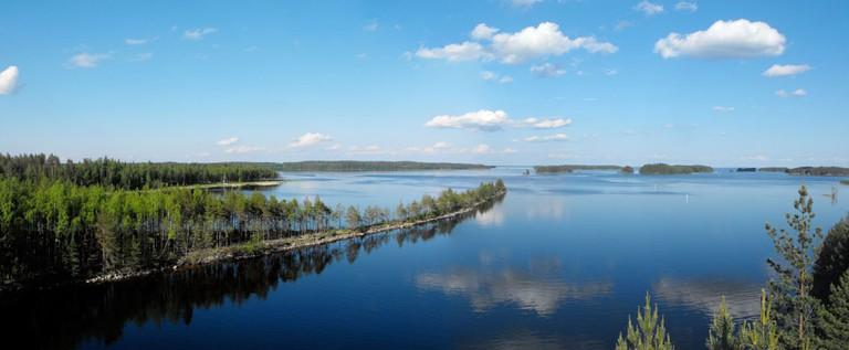 View of Lake Saimaa