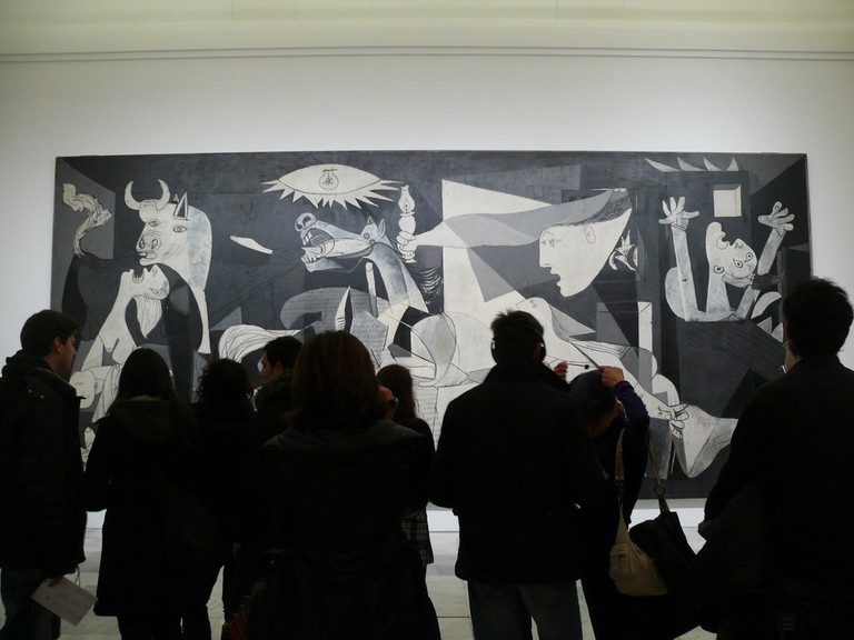 See Picasso's Guernica in the Reina Sofía Museum