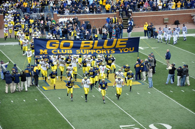 Go Blue | © Jeremy Bronson/Flickr