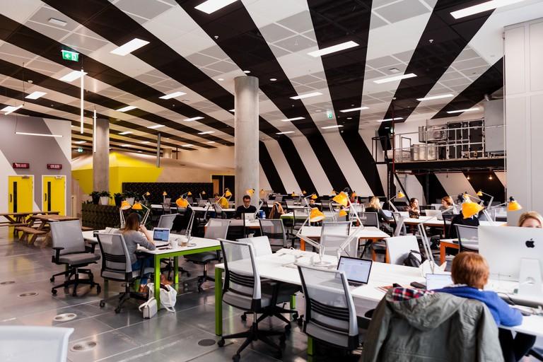 Huckletree West's flexible workspace