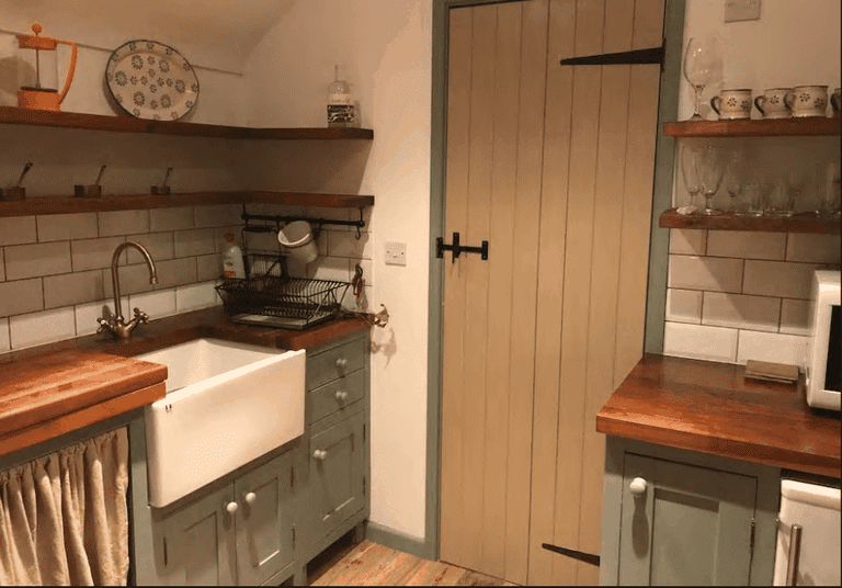 5. Handmade kitchenette - Courtesy of AirBnb