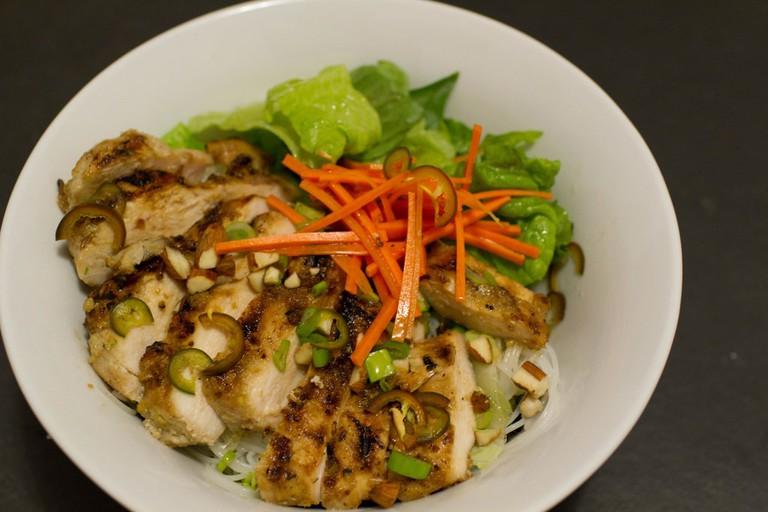 Vietnamese lemongrass chicken   © Steve Dunham/Flickr