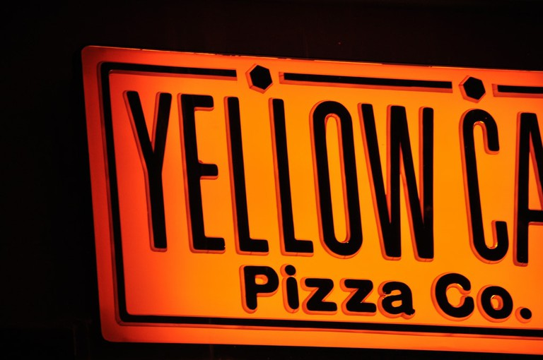 Yellow Cab sign