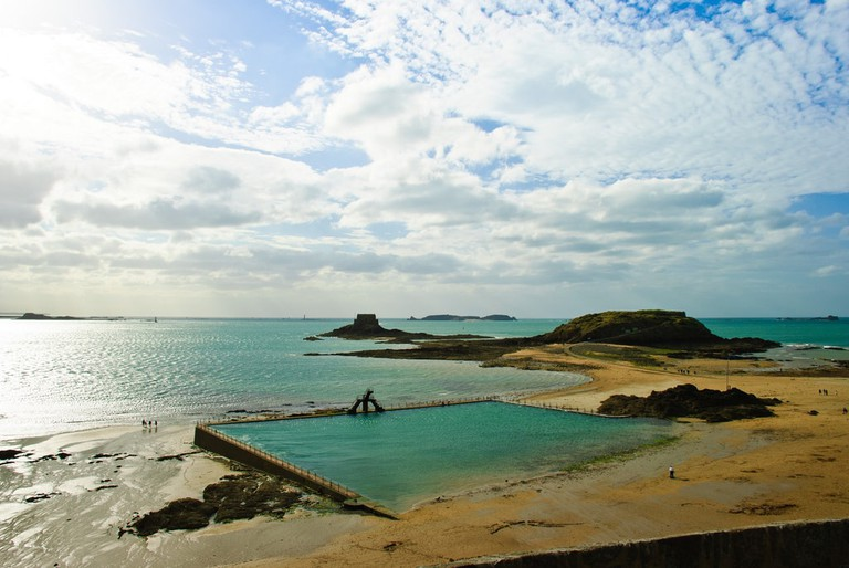 Swimming pool at Saint Malo