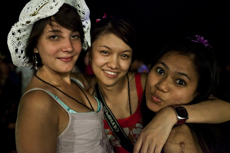 Fun times at the Full Moon Party