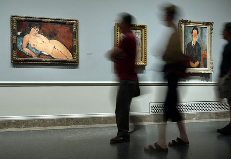Modigliani at the National Gallery, London