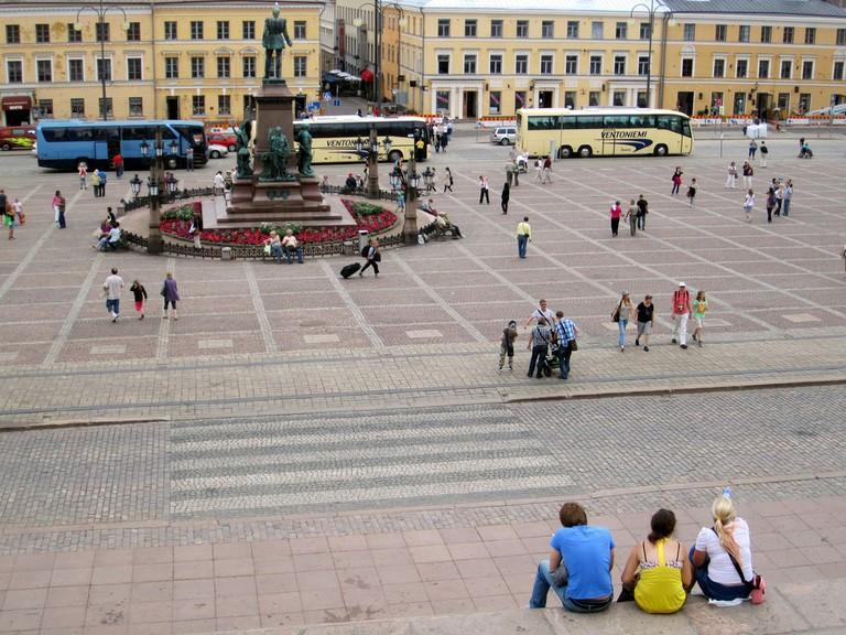 View of Helsinki Senate Square