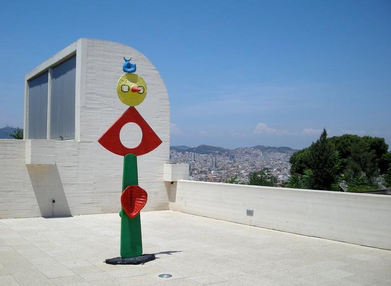 The Caress of a Bird by Joan Miró