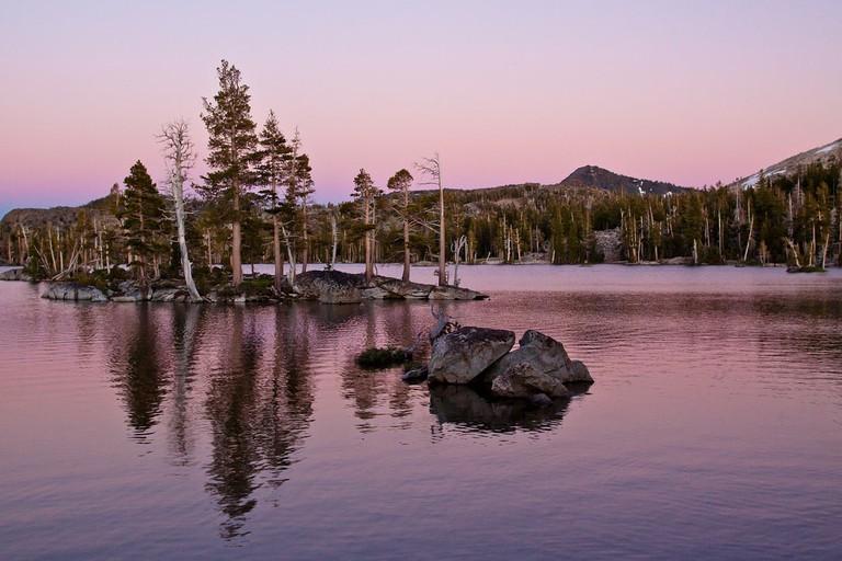Middle Velma Lake Sunset 2