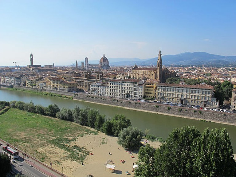 View of Florence from San Niccolò Gate