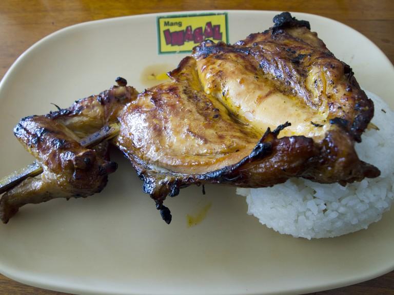 Mang Inasal chicken