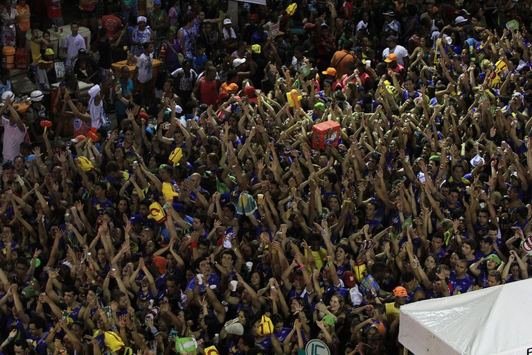 The party doesn't stop during Bahia's Carnival