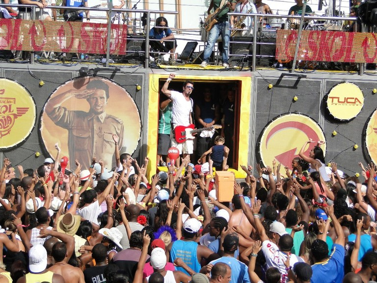 The Trio Electricos are fundamental to Bahia's Carnaval