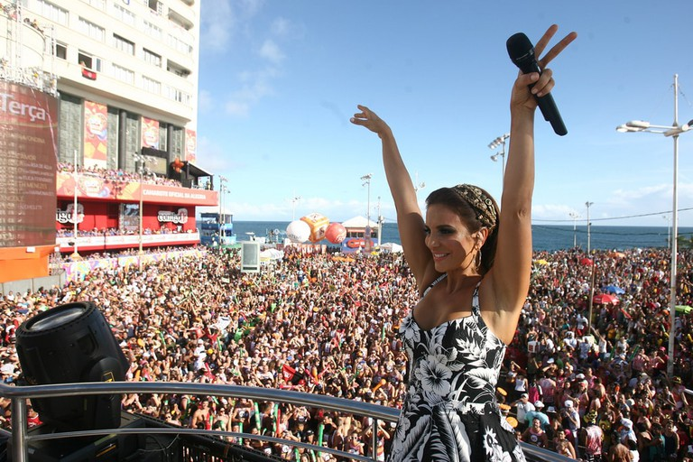 Open air show with Ivete Sangalo