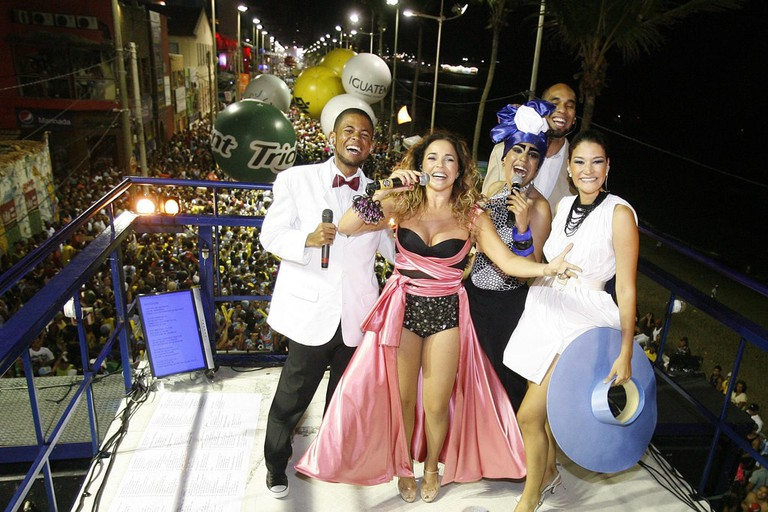It's all about the music, dancing, and socialising in Salvador