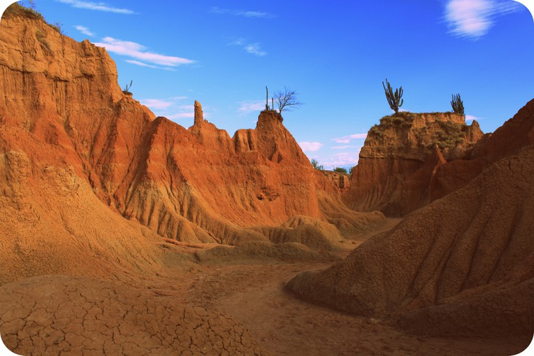 The surreal landscapes of the Tatacoa Desert