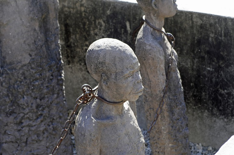 Slavery monument in Stone Town