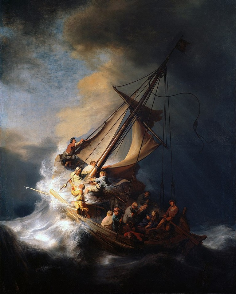 Rembrandt van Rijn, Christ in the Storm on the Sea of Galilee, 1633