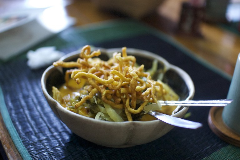 Khao Soi, a northern Thai speciality