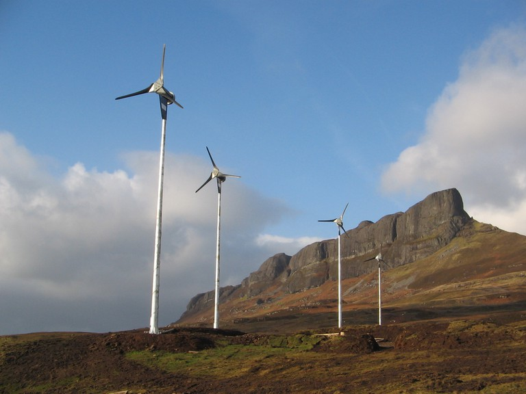 Eigg Wind Turbines