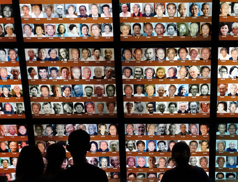 Faces of Nanjing Massacre victims