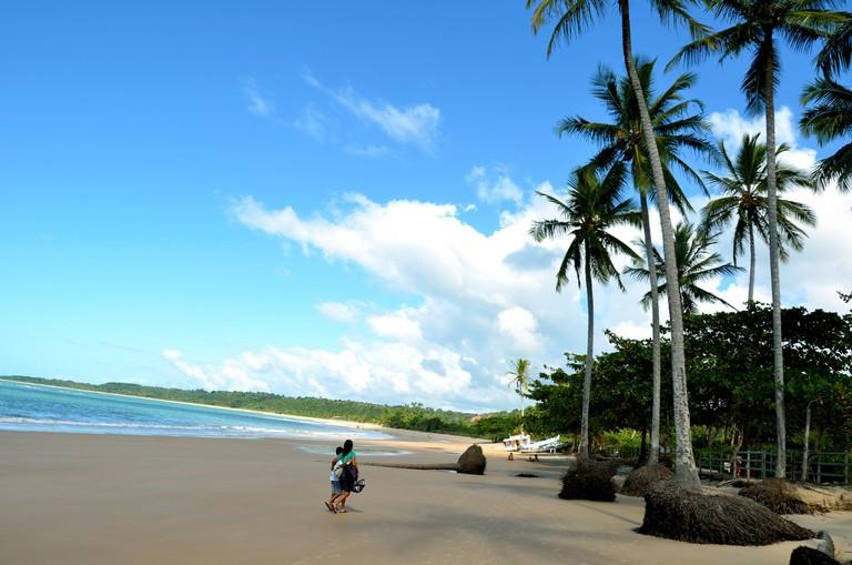 Praia dos Coqueiros in Bahia