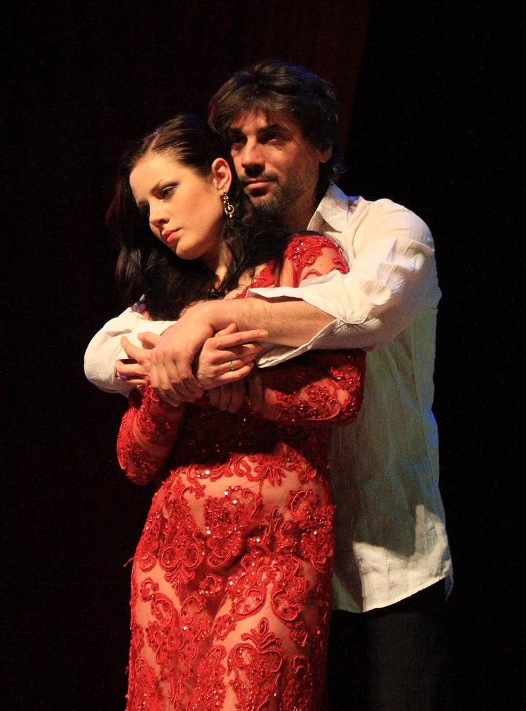 Margarita played by Radmila Shyogoleva at Arbat Theatre