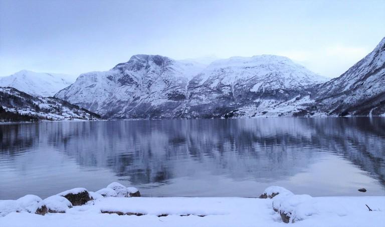 A wintery Jostedalsbreen National Park | Courtesy of Jostedalsbreen nasjonalparksenter - Besøksenter nasjonalpark
