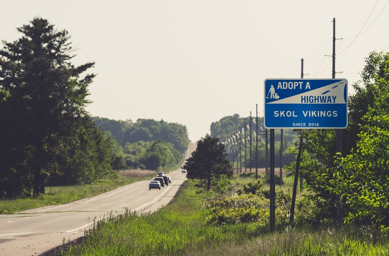 Adopt a Highway – Skol Vikings Tony WebsterFlickr©