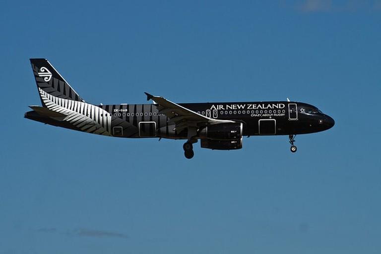 Air NZ Plane | © XPinger / Flickr