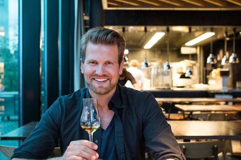 Anders Husa at Oslo's Vaaghals restaurant | Courtesy of andershusa.com