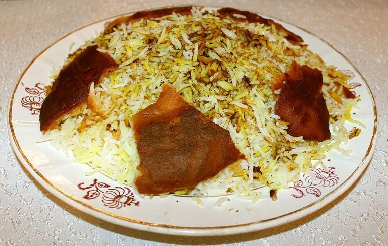 A plate of traditional Azerbaijani Plov | © Urek Meniashvili/WikiCommons
