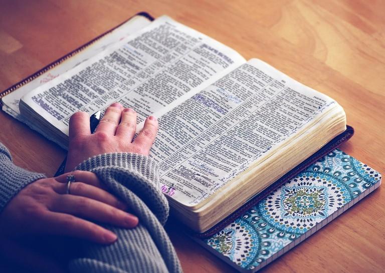 https://pixabay.com/en/book-bible-bible-study-open-bible-1209805/