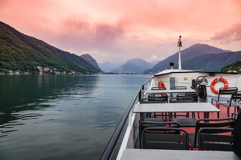 Discover Lake Lugano in southern Switzerland
