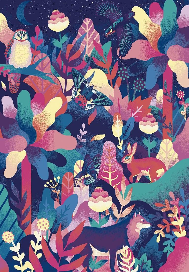 Botanica Digital Illustration