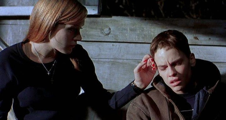 Chloë Sevigny and Hilary Swank in Boys Don't Cry