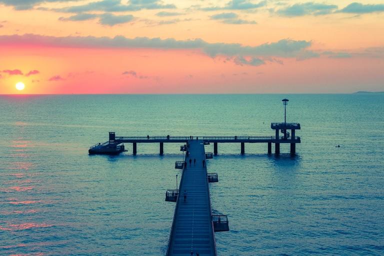 The Burgas Pier