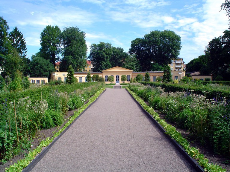 This garden bears Linnaeus' name