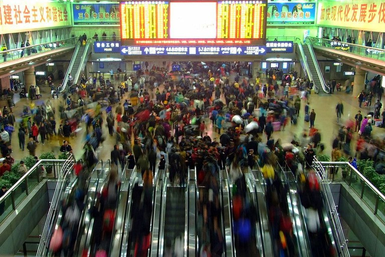 Chinese New Year Travel Rush