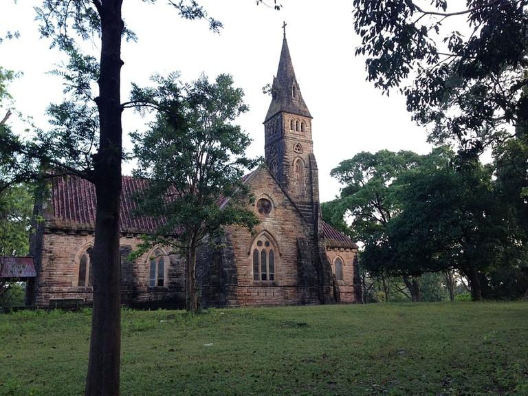 The Catholic Church of Pachmarhi