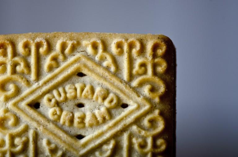 Custard Cream biscuit