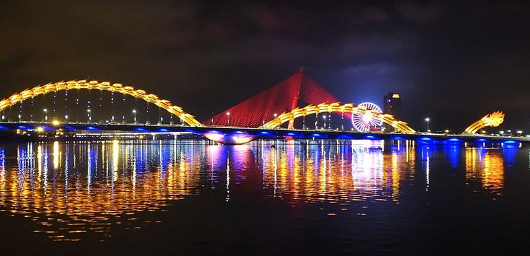 The most famous bridge in Danang