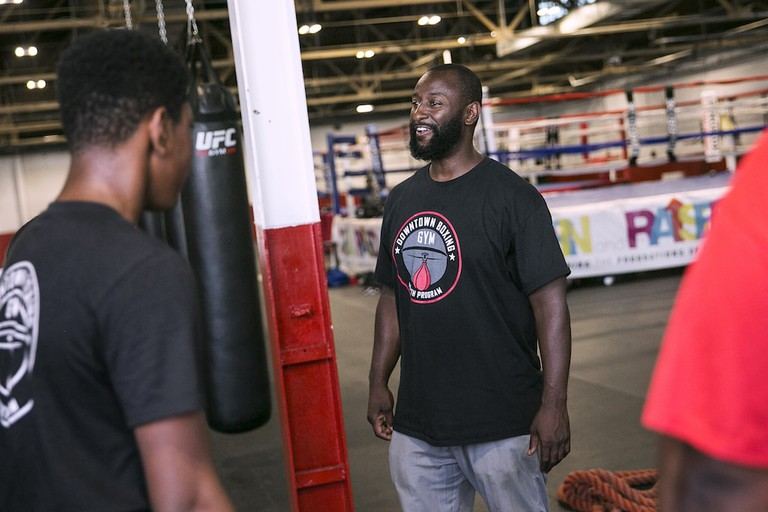 Khali Sweeney | Courtesy of the Downtown Boxing Gym Youth Program