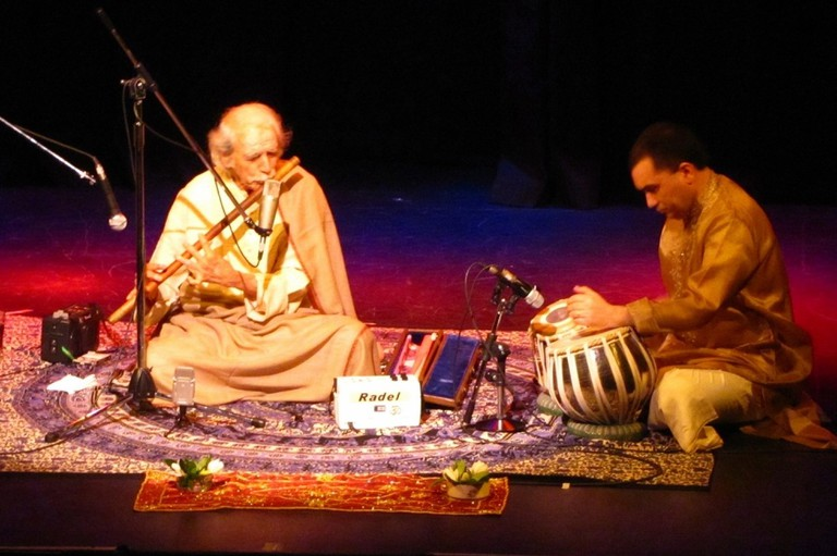 Indian classical music performance