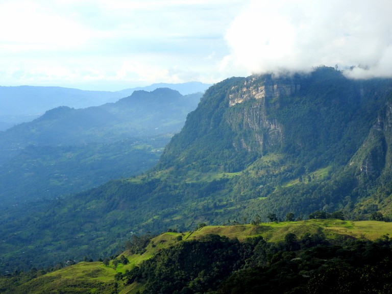 Stunning views of Chicaque Park