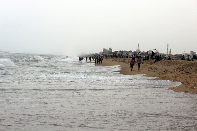 The Besant Nagar Beach is the second most visited beach in Chennai