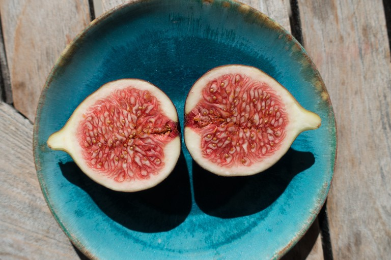 Figs are one of four foods that represent the monastic orders