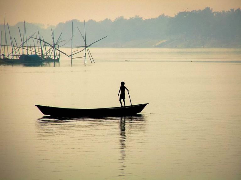 Ganges River Mayapur Braja Sorensen WikiCommons
