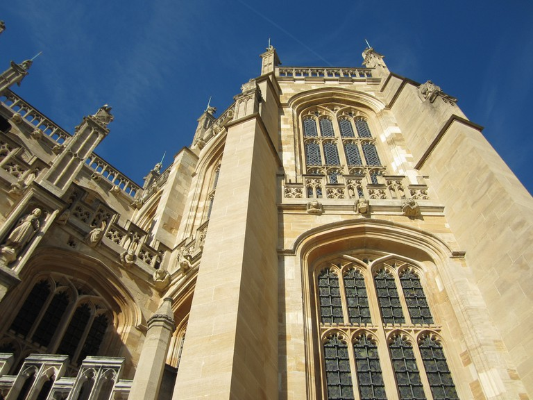 gothic architecture st george's chapel